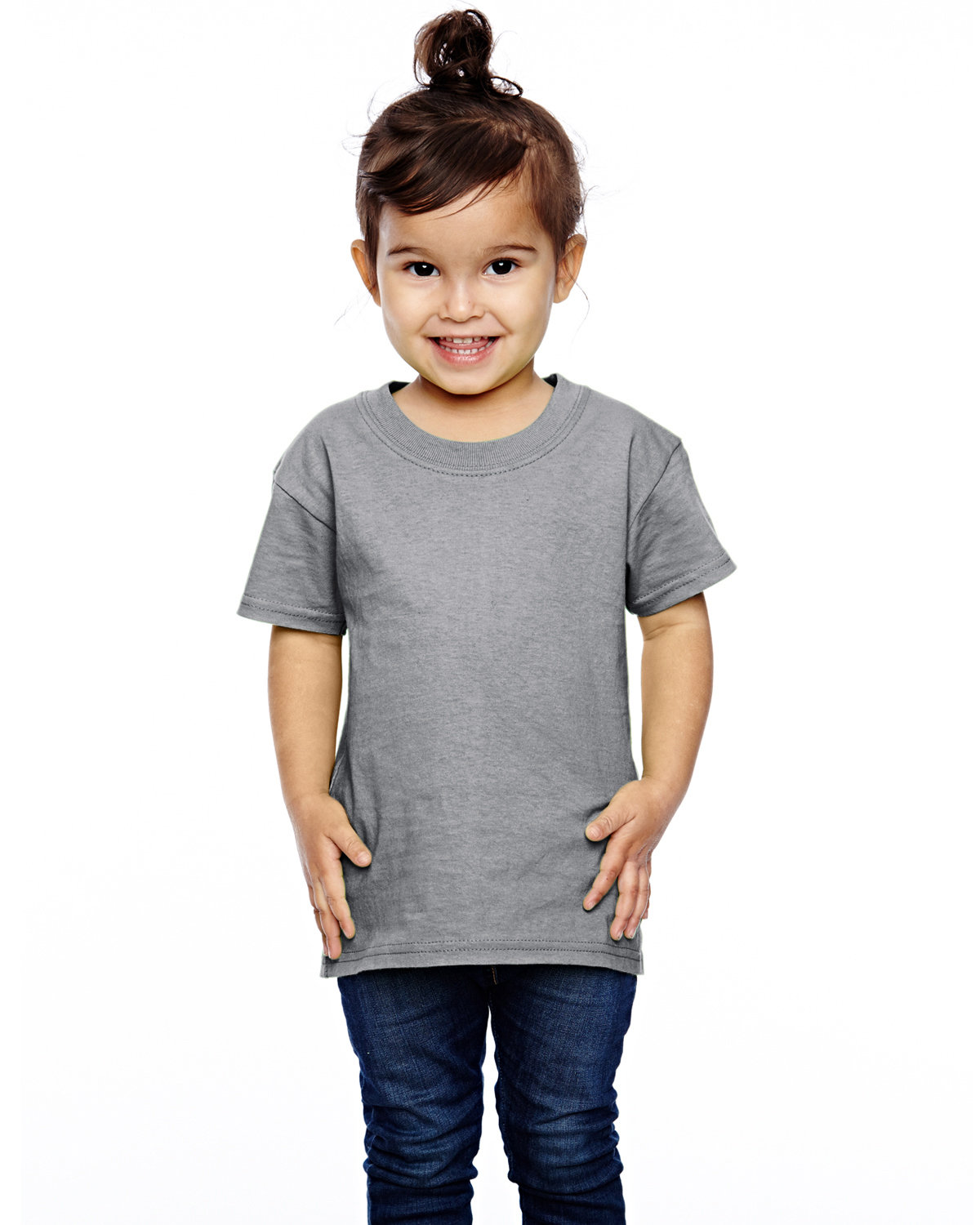 Fruit of the Loom Toddler HD Cotton™ T-Shirt ATHLETIC HEATHER