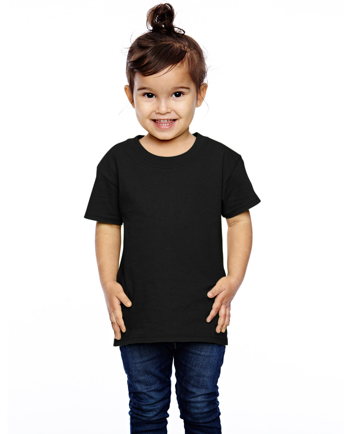 Fruit of the Loom Toddler HD Cotton™ T-Shirt BLACK