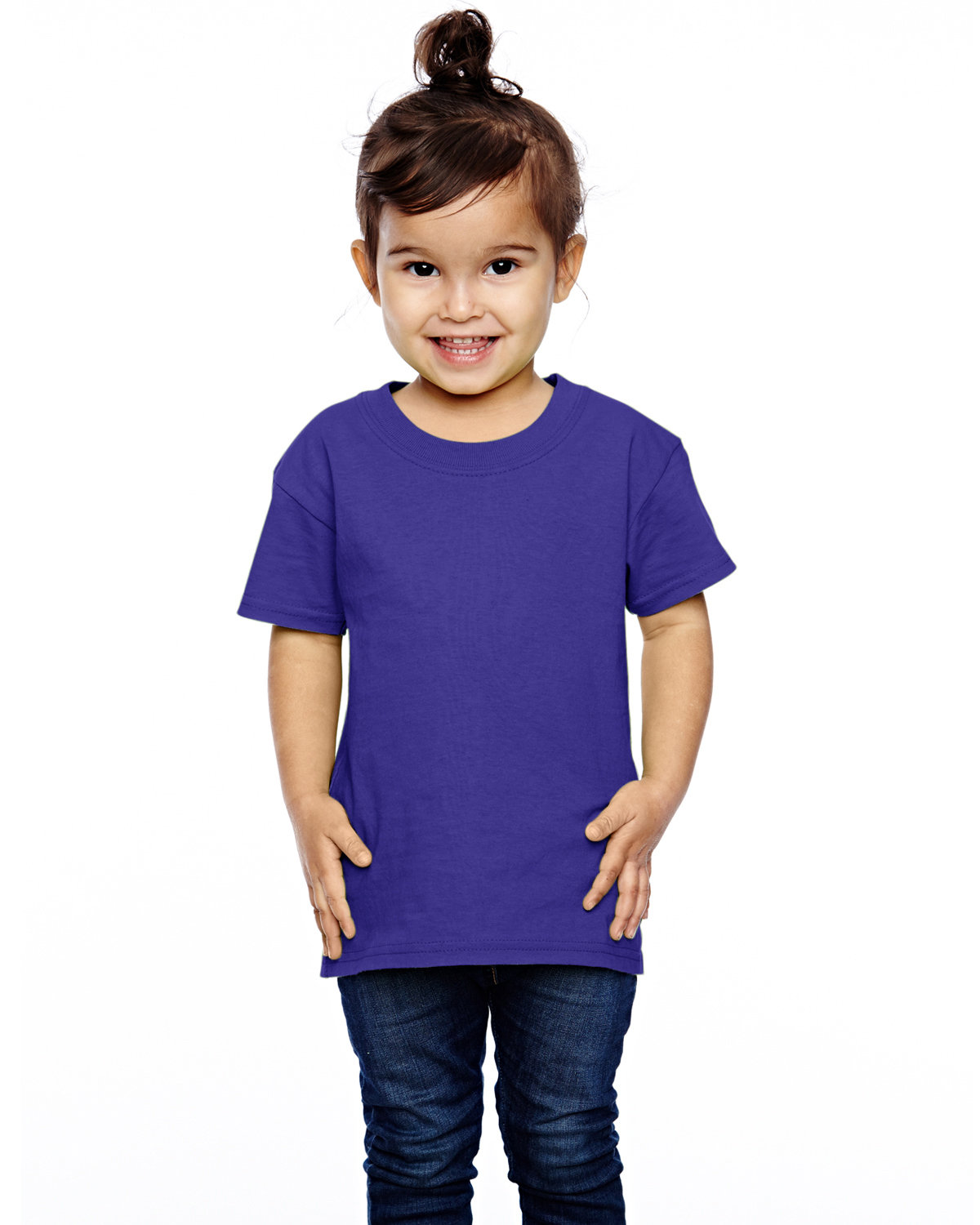 Fruit of the Loom Toddler HD Cotton™ T-Shirt PURPLE
