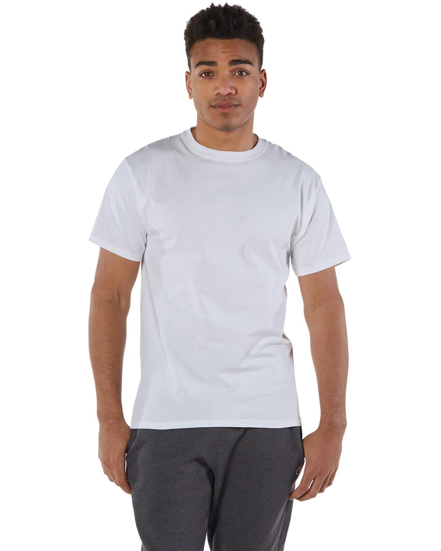 Champion Adult 6 oz. Short-Sleeve T-Shirt WHITE