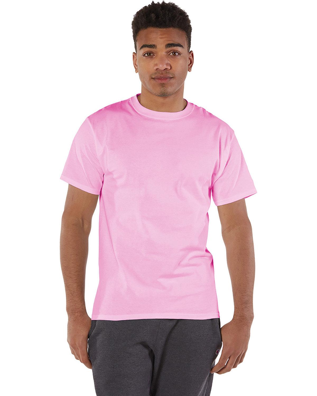 Champion Adult 6 oz. Short-Sleeve T-Shirt PINK CANDY