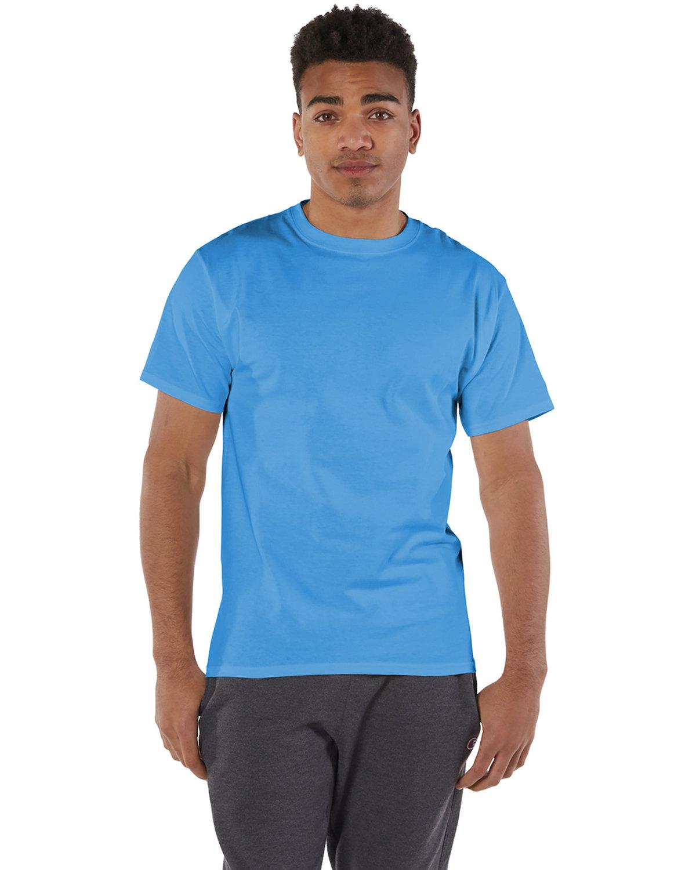 Champion Adult 6 oz. Short-Sleeve T-Shirt LIGHT BLUE