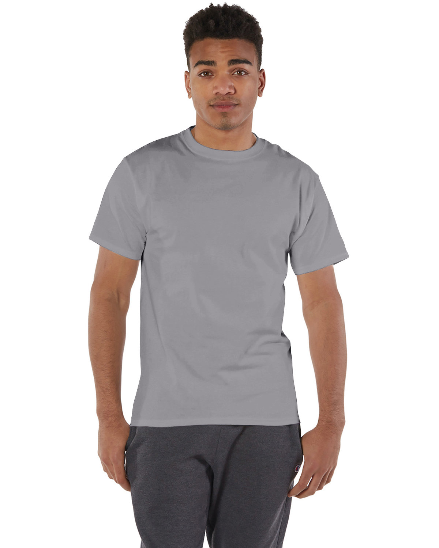 Champion Adult 6 oz. Short-Sleeve T-Shirt STONE GRAY