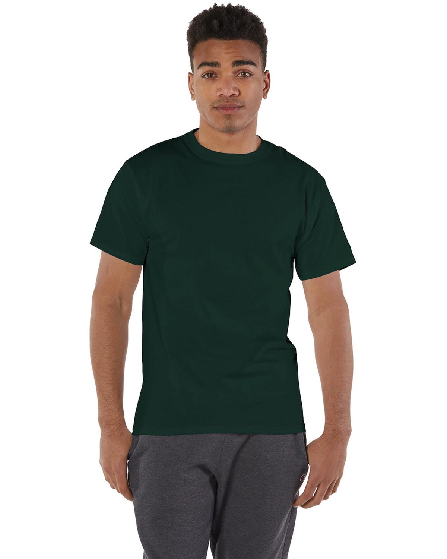 Champion Adult 6 oz. Short-Sleeve T-Shirt DARK GREEN