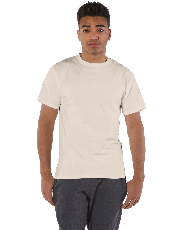 Champion Adult 6 oz. Short-Sleeve T-Shirt SAND