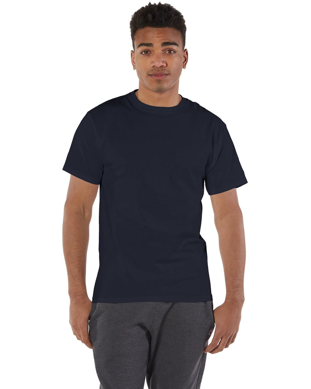 Champion Adult 6 oz. Short-Sleeve T-Shirt NAVY