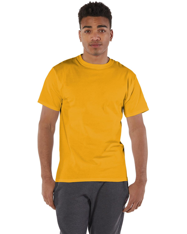 Champion Adult 6 oz. Short-Sleeve T-Shirt GOLD