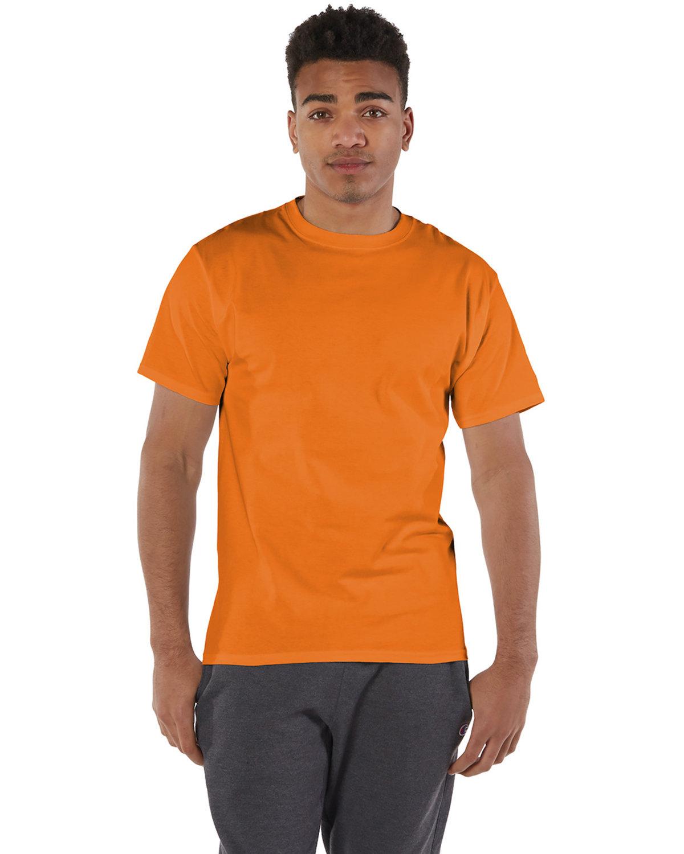 Champion Adult 6 oz. Short-Sleeve T-Shirt ORANGE