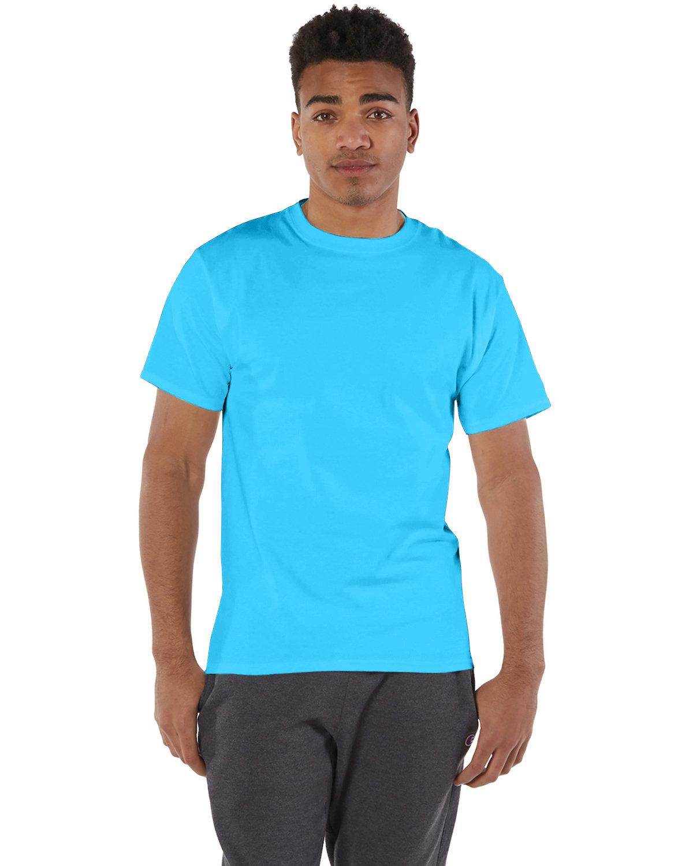 Champion Adult 6 oz. Short-Sleeve T-Shirt BLUE LAGOON