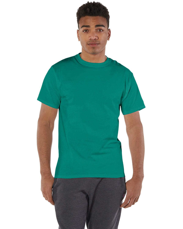Champion Adult 6 oz. Short-Sleeve T-Shirt EMERALD GREEN