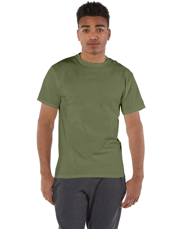 Champion Adult 6 oz. Short-Sleeve T-Shirt FRESH OLIVE