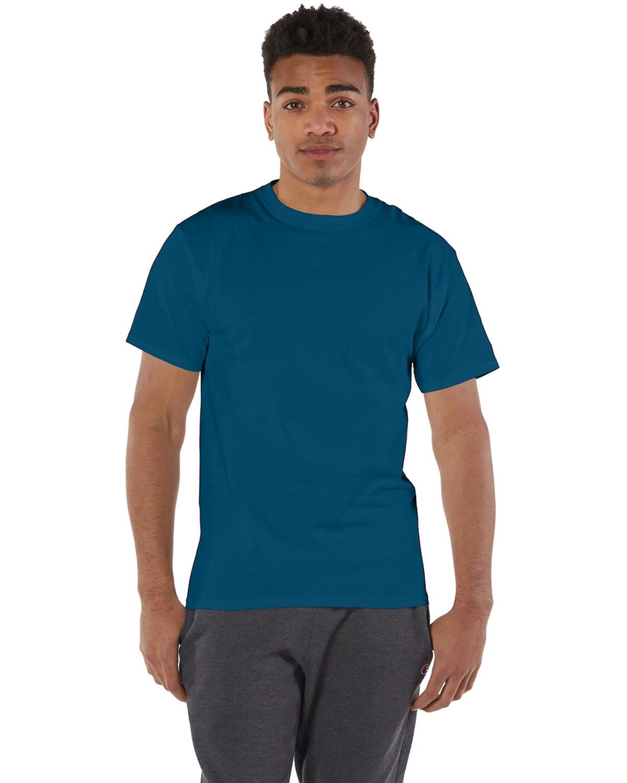 Champion Adult 6 oz. Short-Sleeve T-Shirt LATE NIGHT BLUE