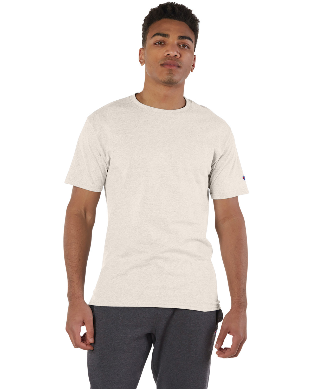 Champion Adult 6 oz. Short-Sleeve T-Shirt OATMEAL HEATHER