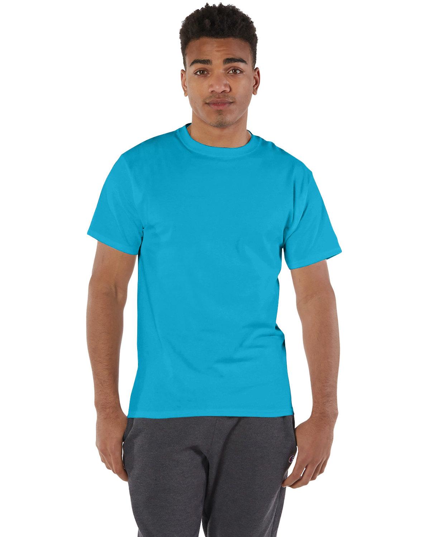 Champion Adult 6 oz. Short-Sleeve T-Shirt TEMPO TEAL