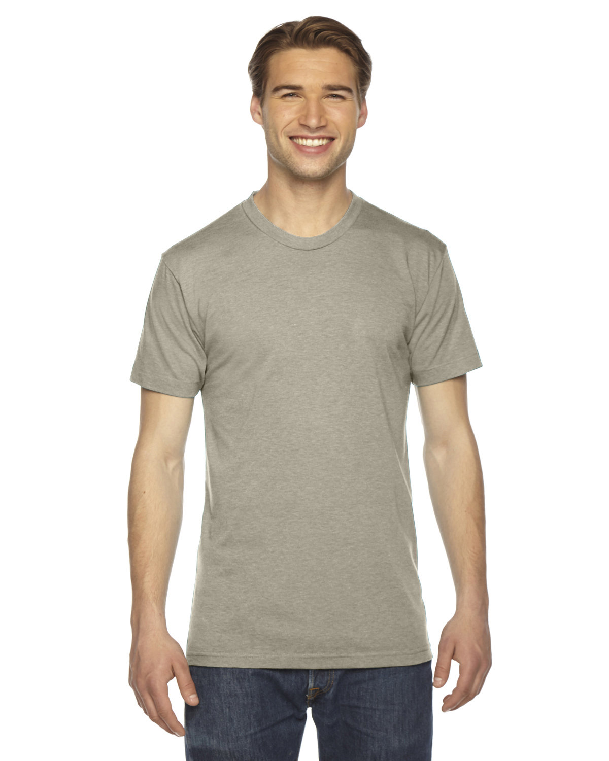 American Apparel Unisex Triblend Short-Sleeve Track T-Shirt TRI LIEUTENANT