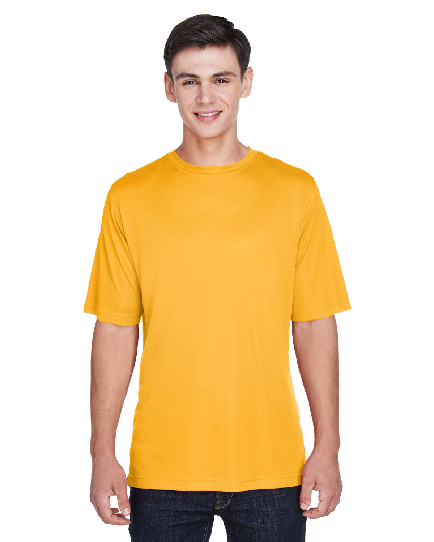 Team 365 Men's Zone Performance T-Shirt SP ATHLETIC GOLD