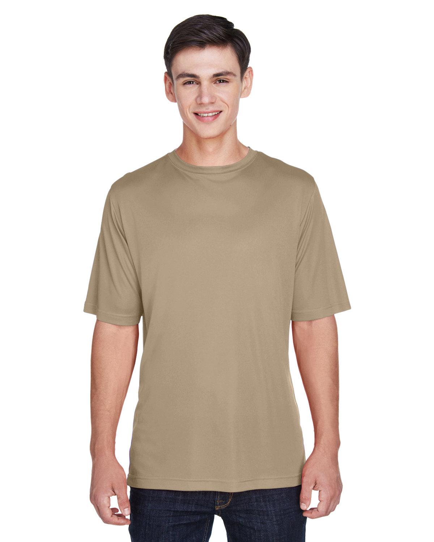 Team 365 Men's Zone Performance T-Shirt DESERT KHAKI