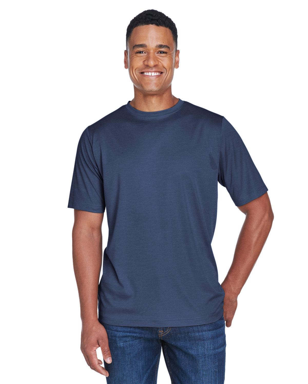 Team 365 Men's Sonic Heather Performance T-Shirt SP DRK NVY HTH