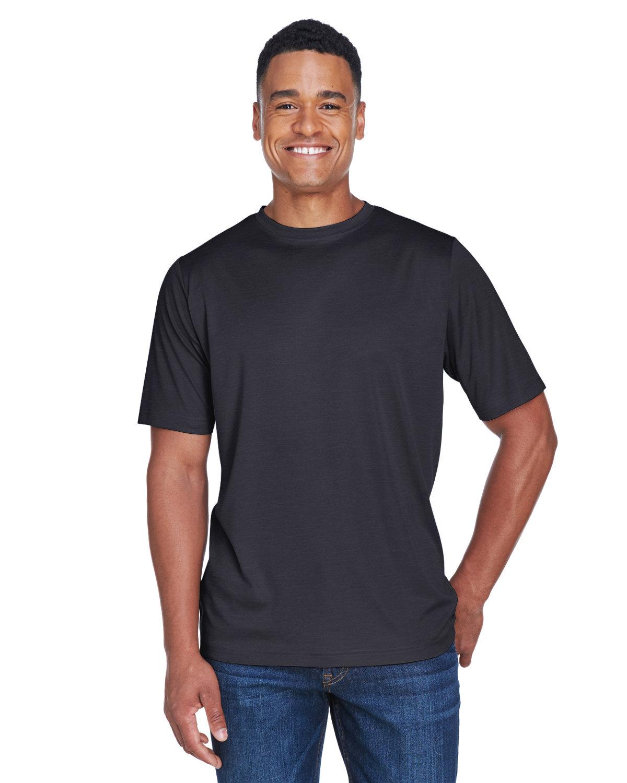 Team 365 Men's Sonic Heather Performance T-Shirt BLACK HEATHER