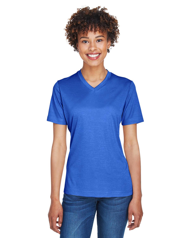 Team 365 Ladies' Sonic Heather Performance T-Shirt SP ROYAL HEATHER