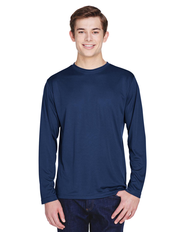 Team 365 Men's Zone Performance Long-Sleeve T-Shirt SPORT DARK NAVY