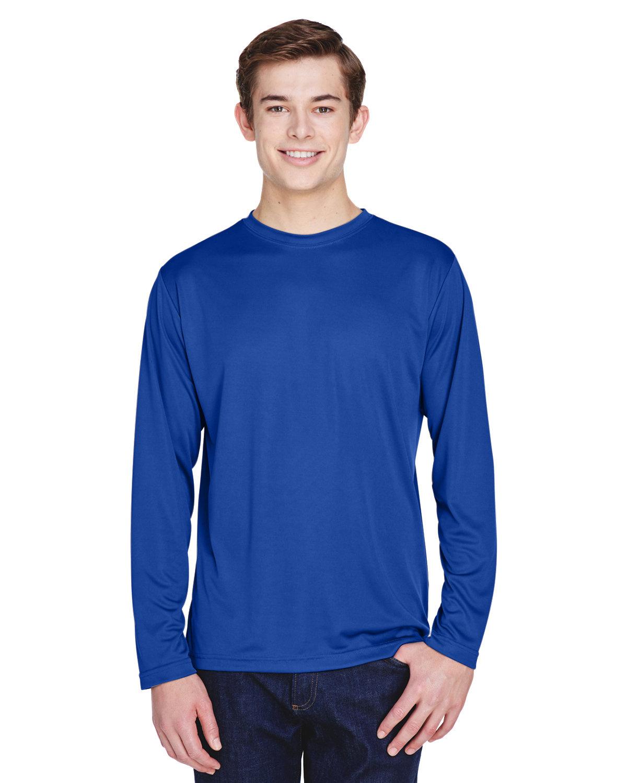 Team 365 Men's Zone Performance Long-Sleeve T-Shirt SPORT ROYAL