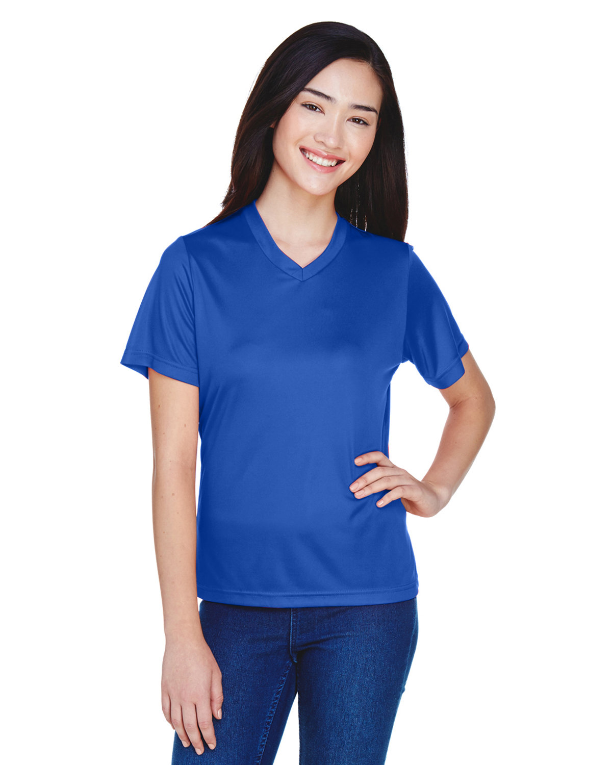Team 365 Ladies' Zone Performance T-Shirt SPORT ROYAL
