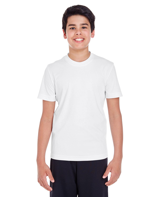 Team 365 Youth Zone Performance T-Shirt WHITE