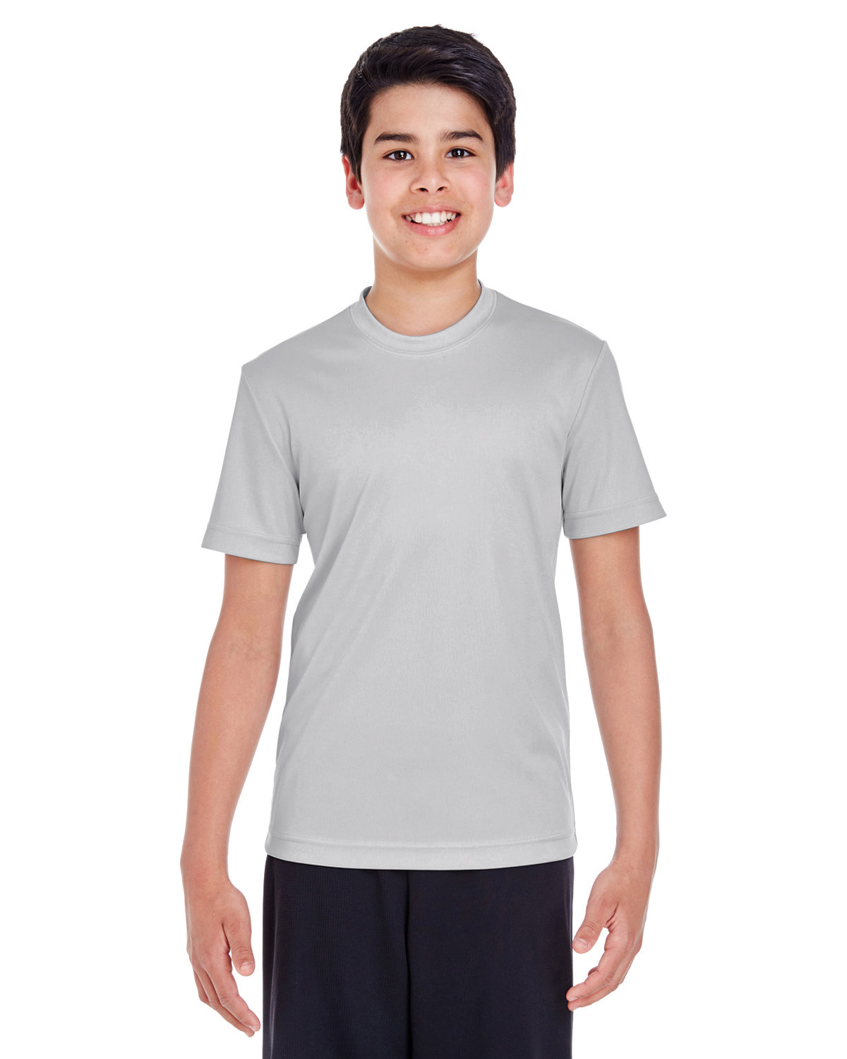 Team 365 Youth Zone Performance T-Shirt SPORT SILVER