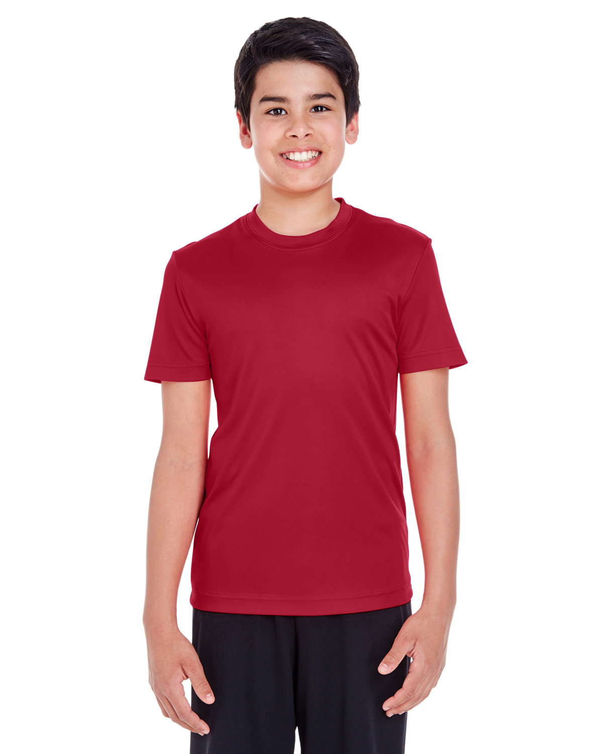 Team 365 Youth Zone Performance T-Shirt SPORT SCRLET RED
