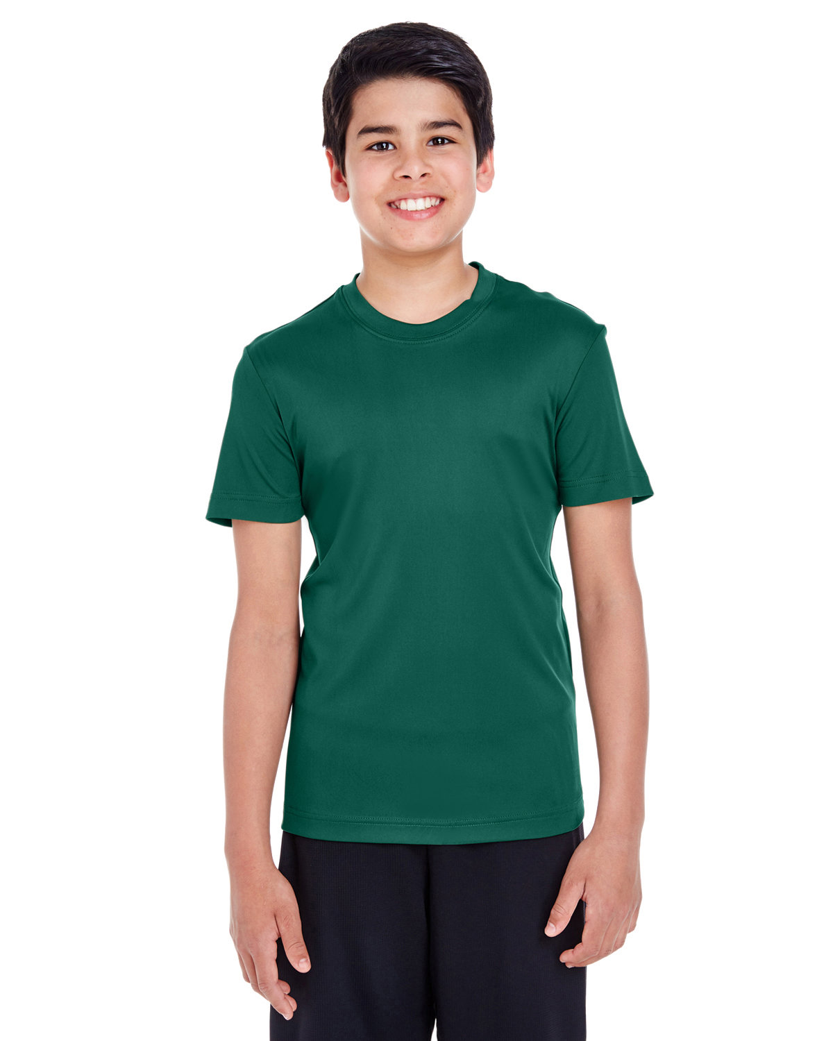 Team 365 Youth Zone Performance T-Shirt SPORT FOREST