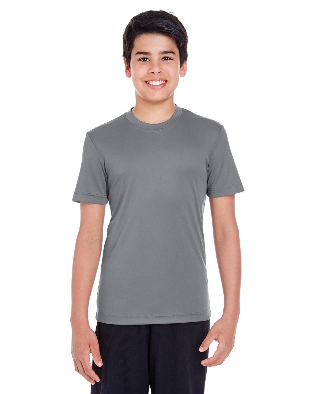 Team 365 Youth Zone Performance T-Shirt SPORT GRAPHITE