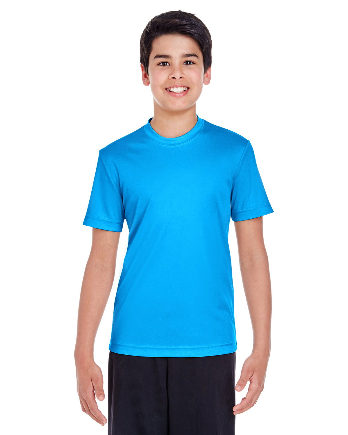 Team 365 Youth Zone Performance T-Shirt ELECTRIC BLUE