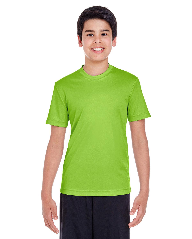 Team 365 Youth Zone Performance T-Shirt ACID GREEN