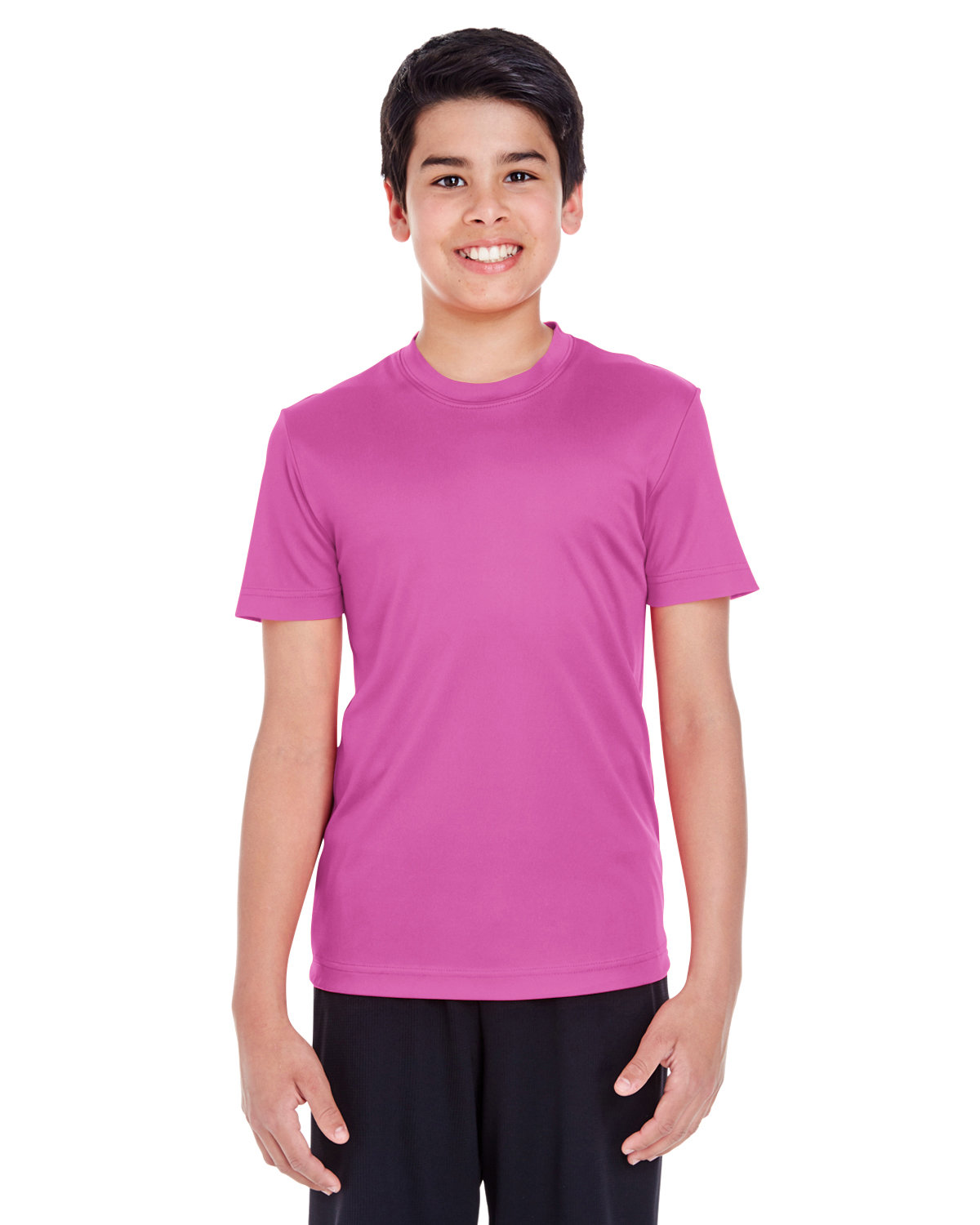 Team 365 Youth Zone Performance T-Shirt SP CHARITY PINK