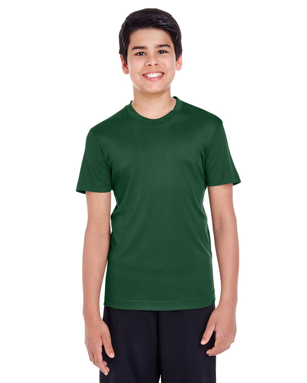 Team 365 Youth Zone Performance T-Shirt SPORT DARK GREEN