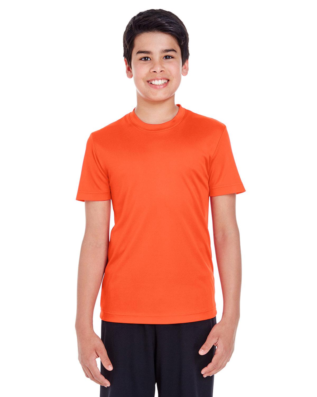 Team 365 Youth Zone Performance T-Shirt SPORT ORANGE