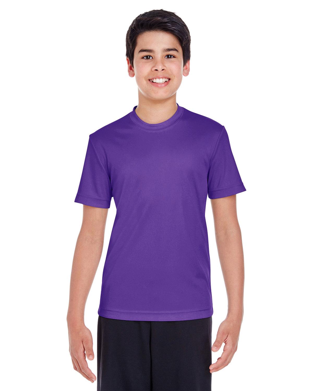 Team 365 Youth Zone Performance T-Shirt SPORT PURPLE
