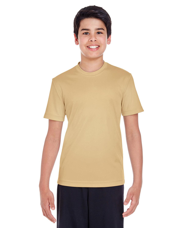 Team 365 Youth Zone Performance T-Shirt SPORT VEGAS GOLD