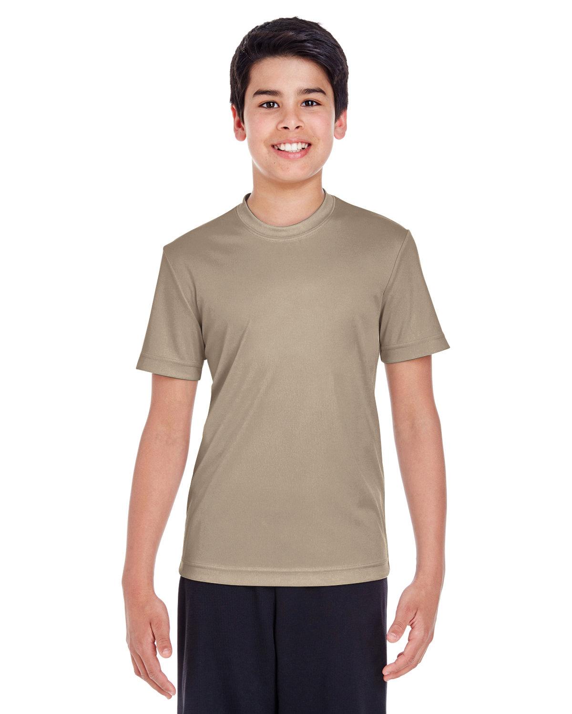 Team 365 Youth Zone Performance T-Shirt DESERT KHAKI