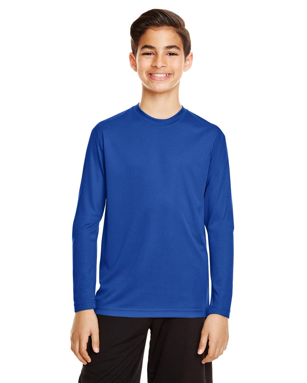Team 365 Youth Zone Performance Long-Sleeve T-Shirt SPORT ROYAL