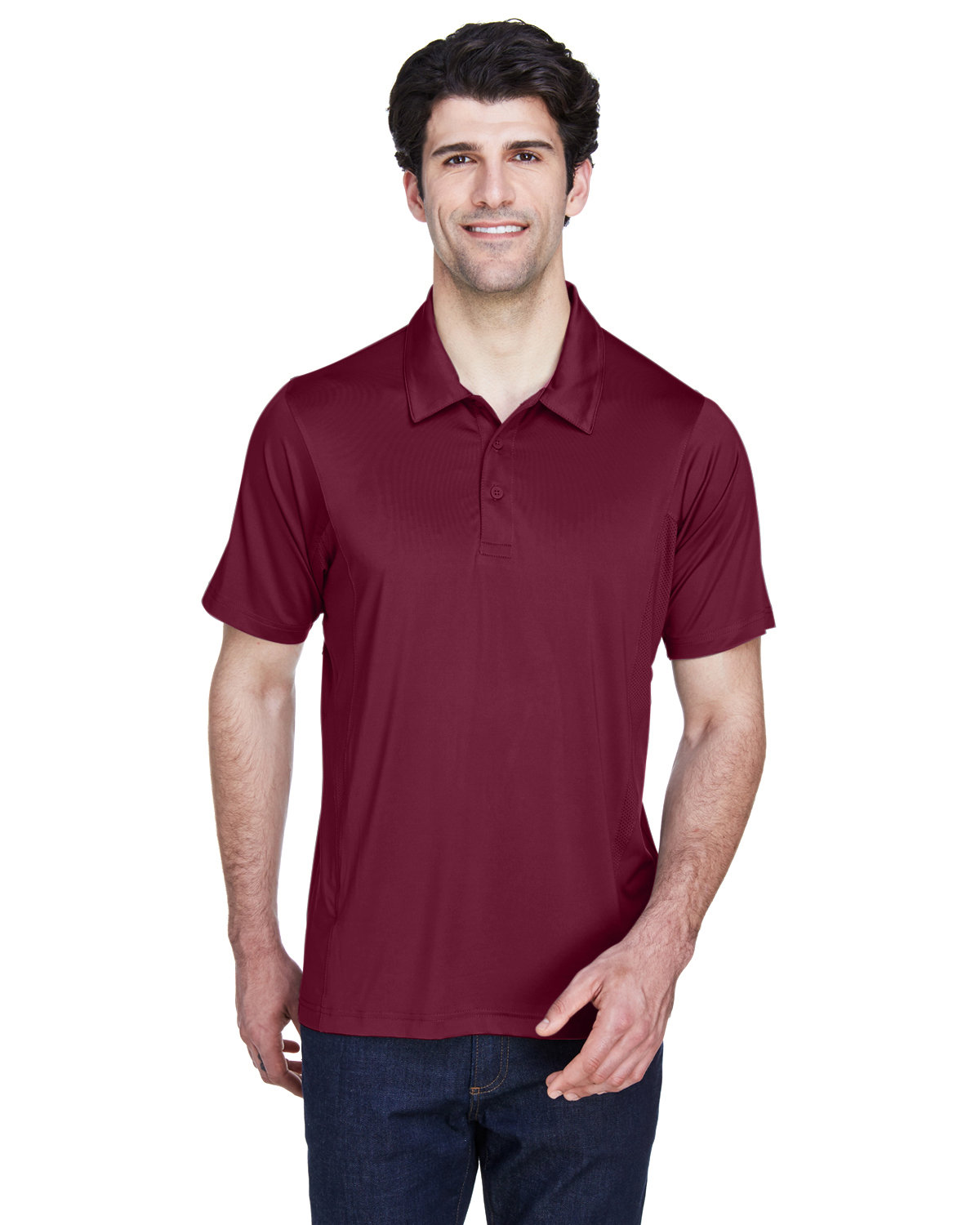 Team 365 Men's Charger Performance Polo SPORT MAROON