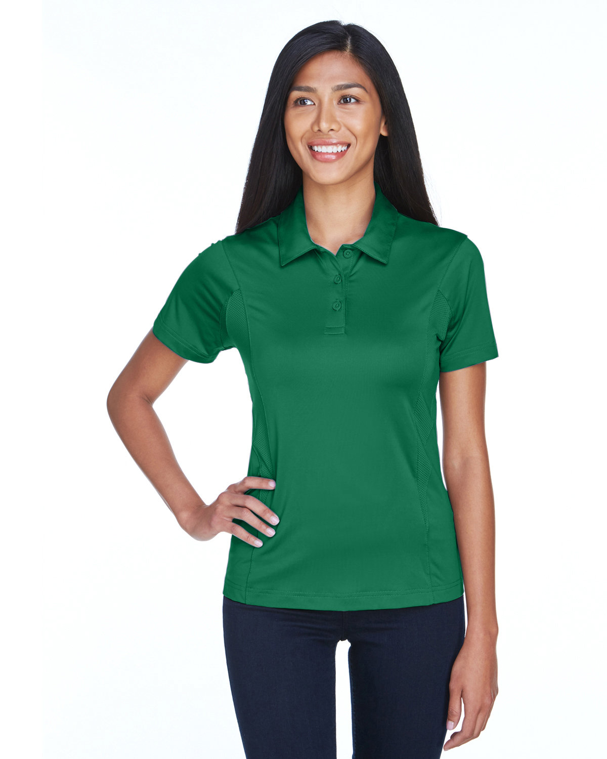 Team 365 Ladies' Charger Performance Polo SPORT KELLY
