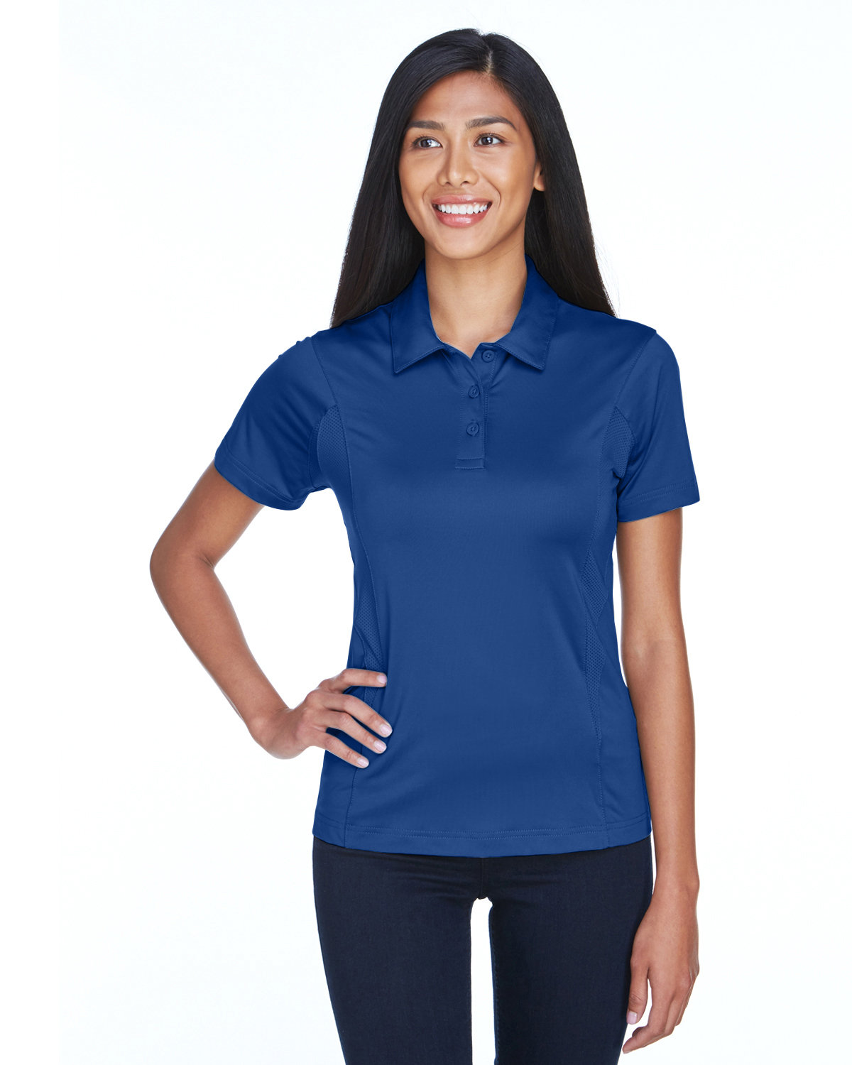 Team 365 Ladies' Charger Performance Polo SPORT ROYAL