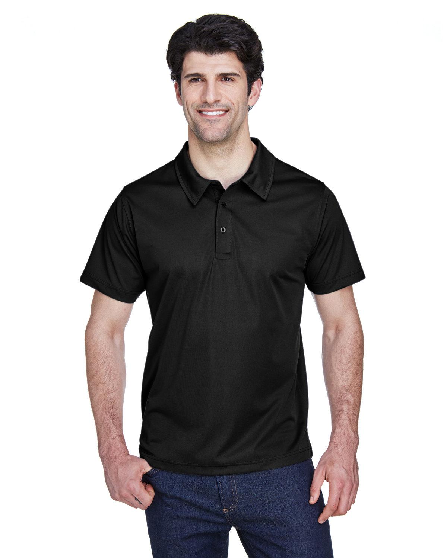 Team 365 Men's Command Snag Protection Polo BLACK