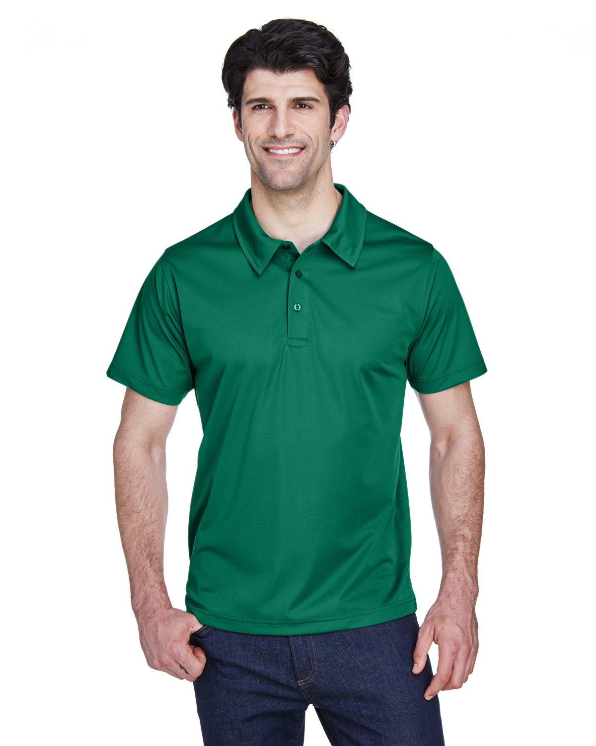 Team 365 Men's Command Snag Protection Polo SPORT FOREST