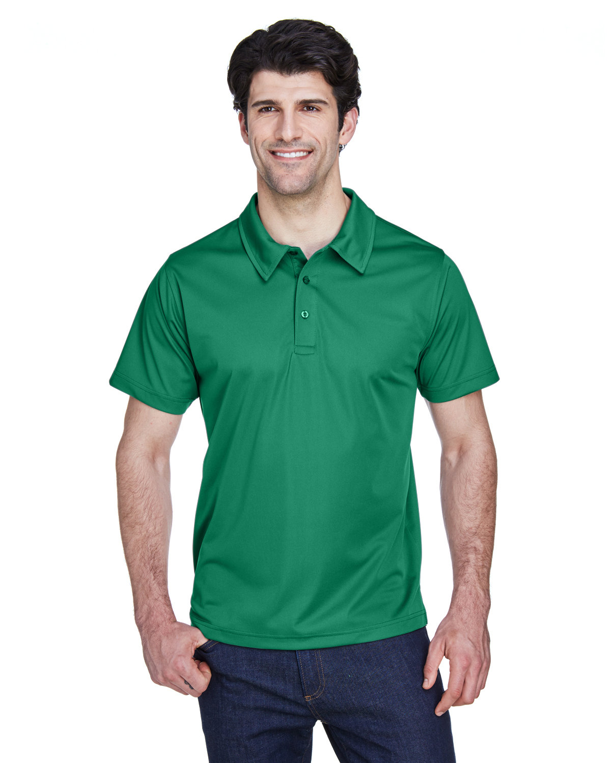Team 365 Men's Command Snag Protection Polo SPORT KELLY