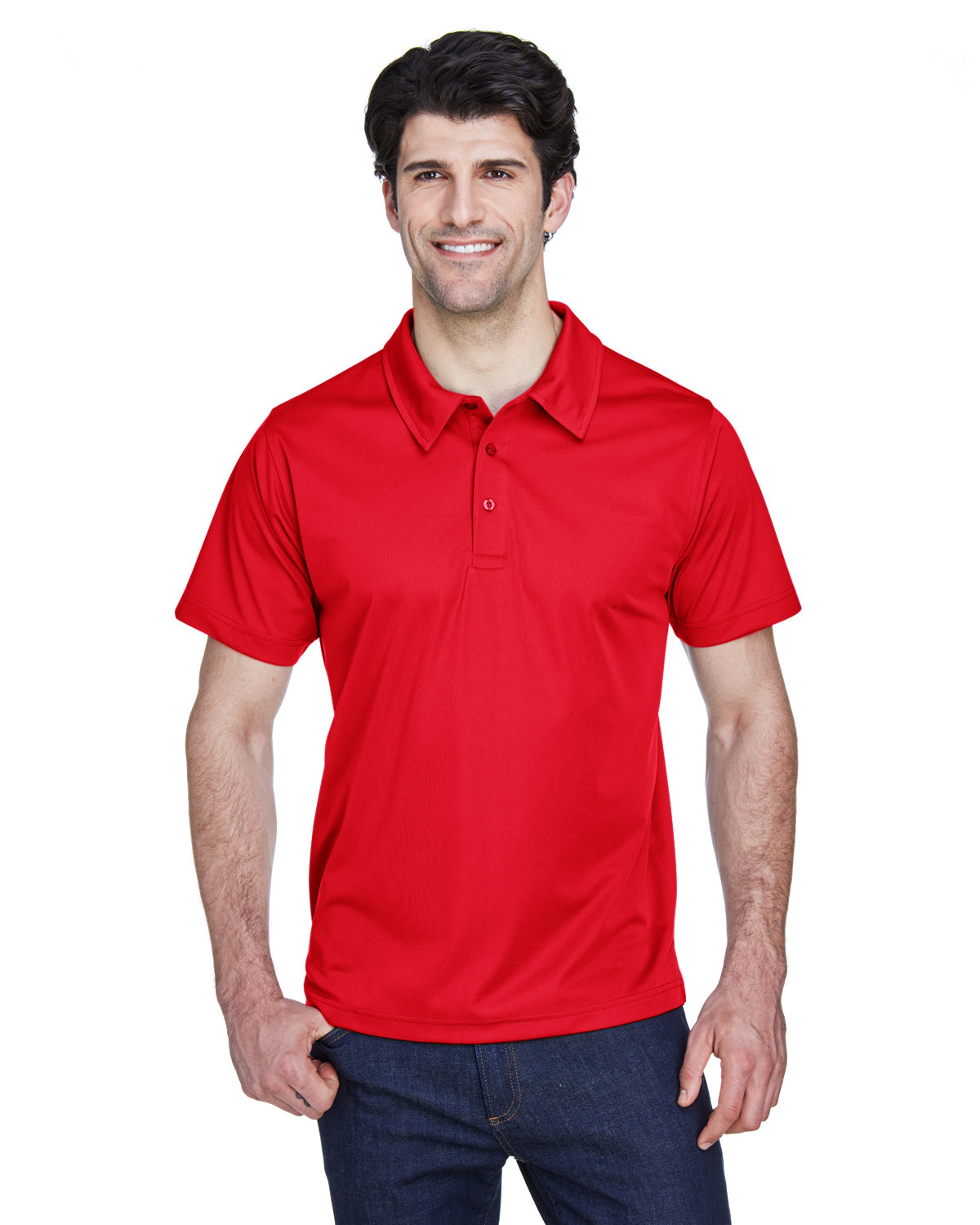 Team 365 Men's Command Snag Protection Polo SPORT RED