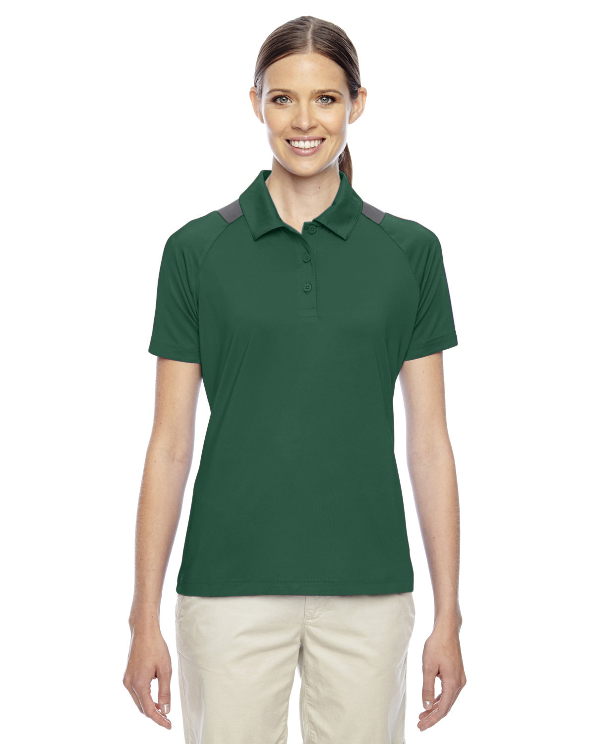 Team 365 Ladies' Innovator Performance Polo SP FOREST/ SP GR