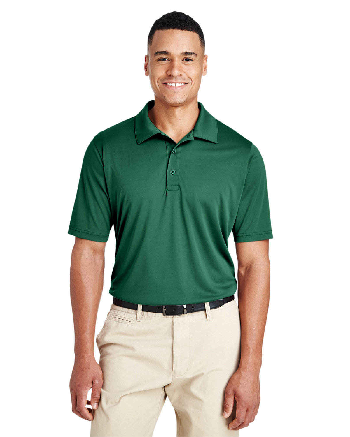 Team 365 Men's Zone Performance Polo SPORT FOREST